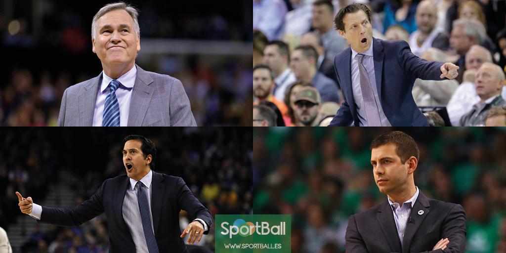 Premios individuales NBA: los candidatos a entrenador del año.