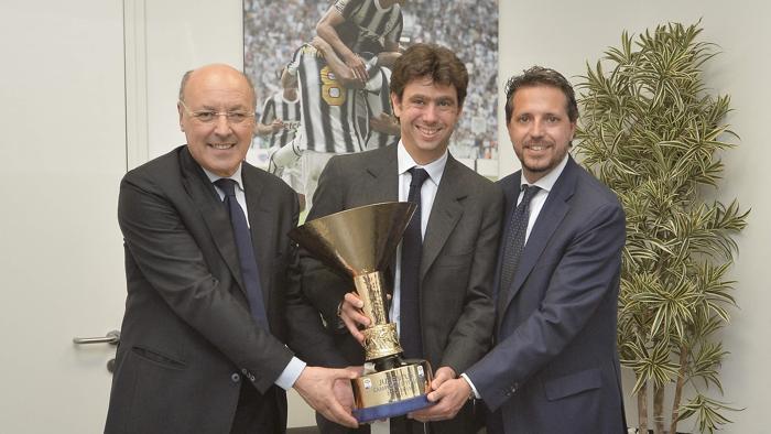 Promesa de la Juve. Directiva de la Juventus