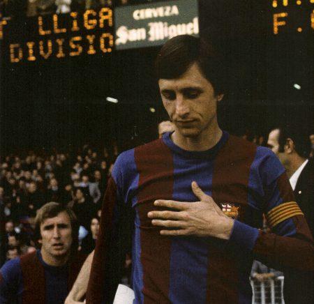 Johan Cruyff consiguió la Liga en su primera temporada de blaugrana