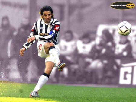 Del Piero sumó en la temporada 2001-02 su cuarto Scudetto.