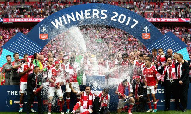 Arsenal vence 2-1 a Chelsea y se corona en FA Cup