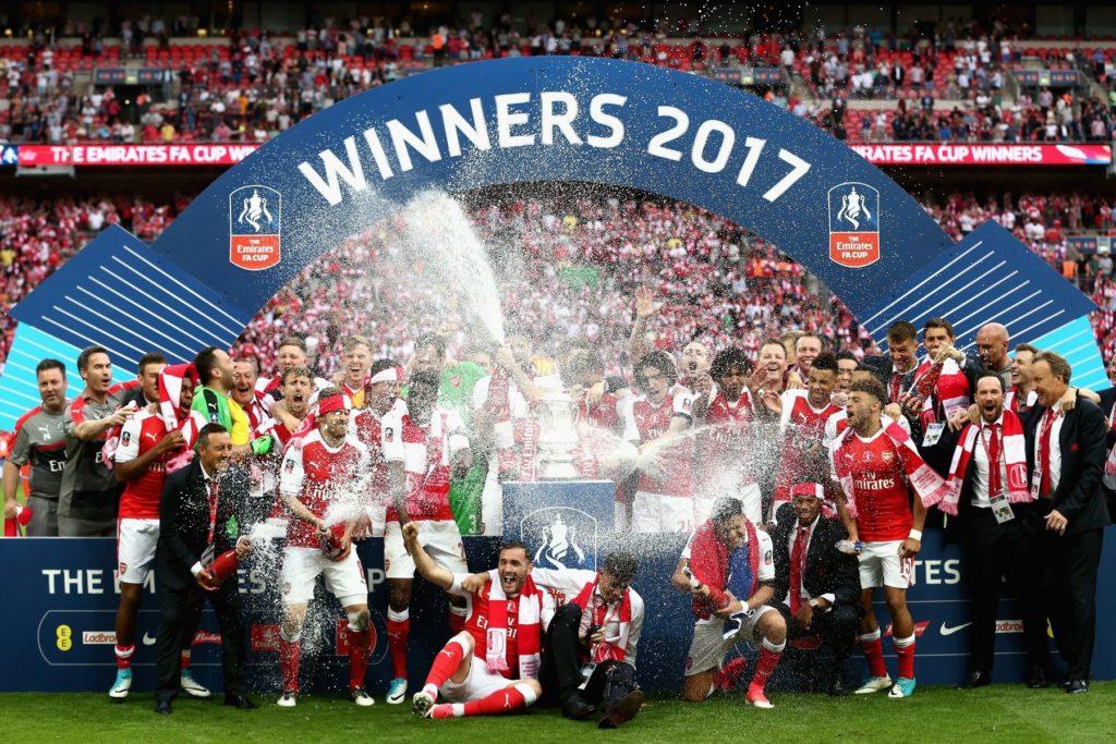 Arsenal, campeón de la FA Cup en 2017