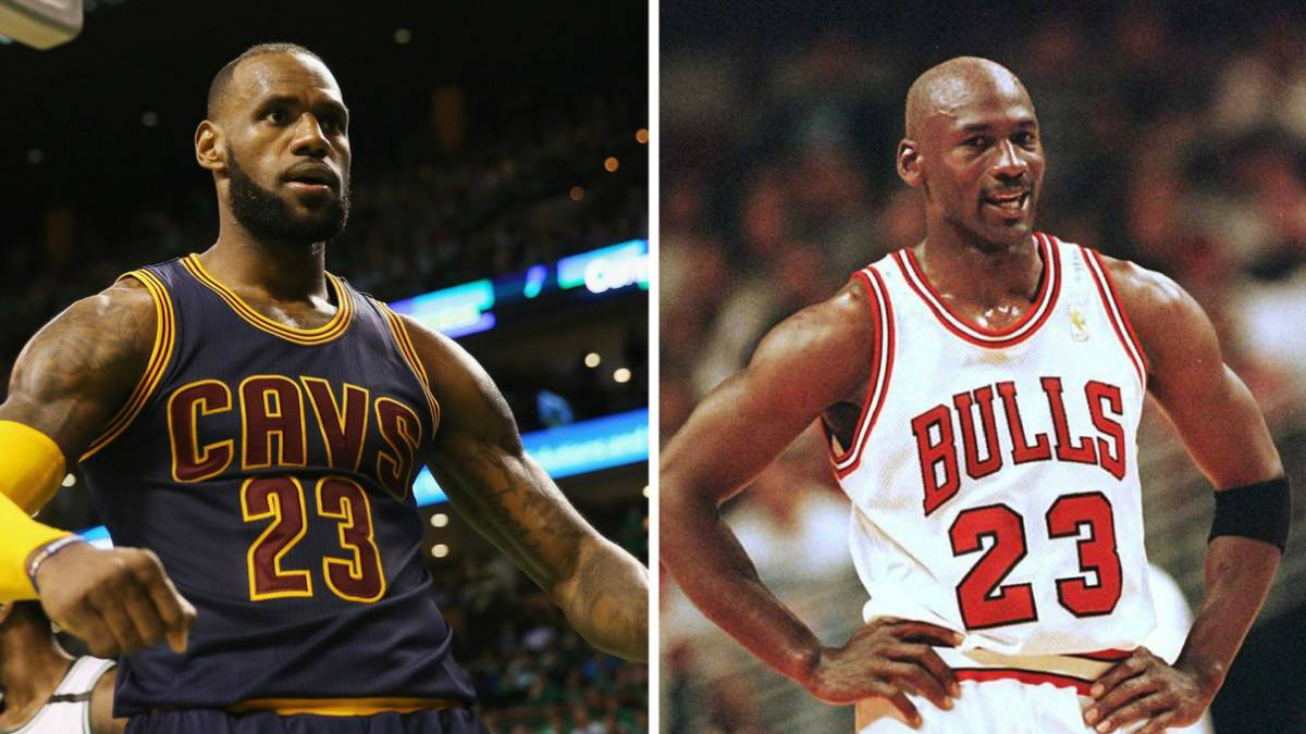 LeBron James el rey de los Playoffs, se codea ya con Michael Jordan.