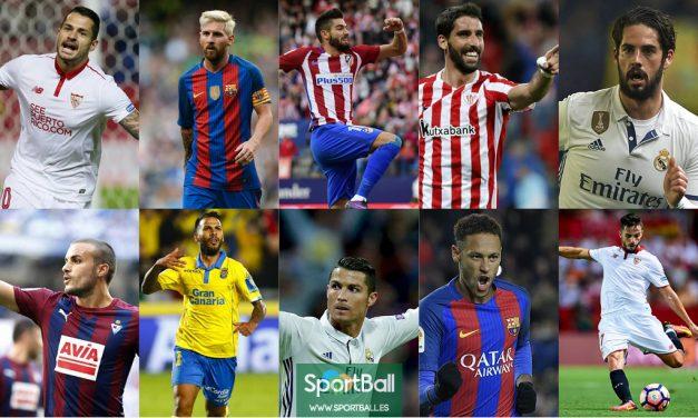 El 11 ideal de La Liga 2016-17
