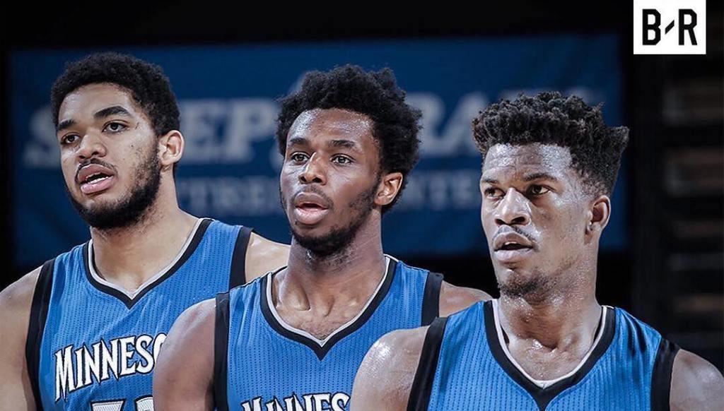 Los Wolves ya tienen su Big Three. lasueur.com