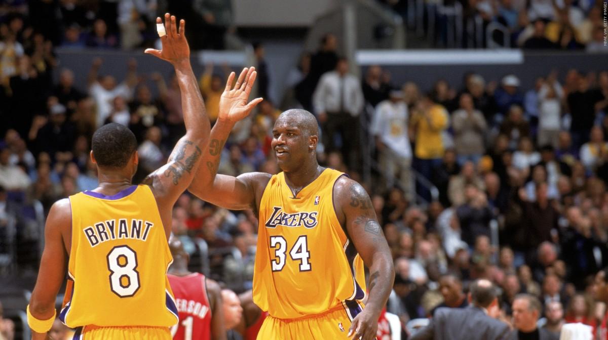 Shaq y Kobe en los Lakers