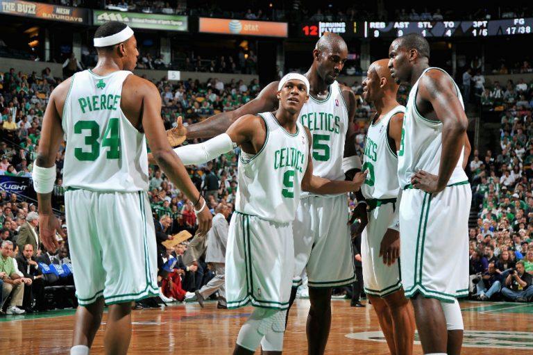 Rajon Rondo era un líder en la sombra en los Celtics campeones en 2008.