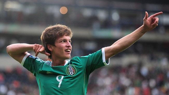 México Campeón Mundial sub-17. Carlos Fierro en el sube 17. Foto: miseleccion.mx