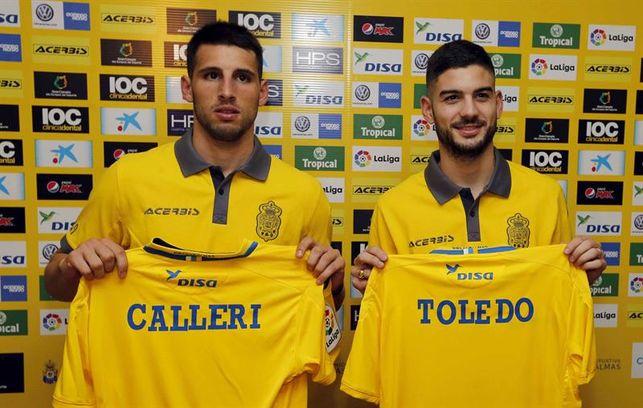 Cómo juega Calleri: UD Las Palmas