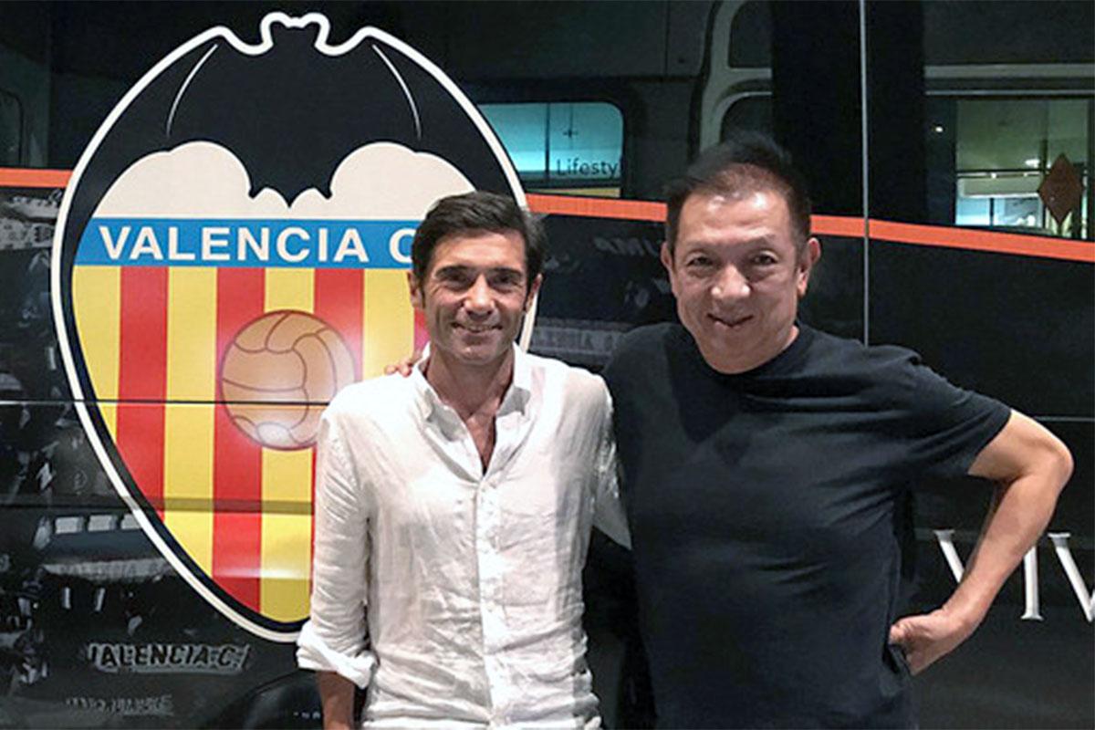 El mercado de fichajes del Valencia 2017-18. Peter Lim y Marcelino, dueño y entrenador del club. Deportevalenciano.com