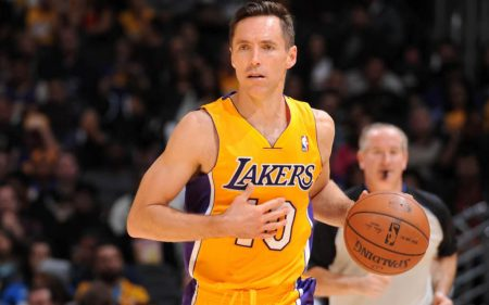 Steve Nash Los Angeles Lakers