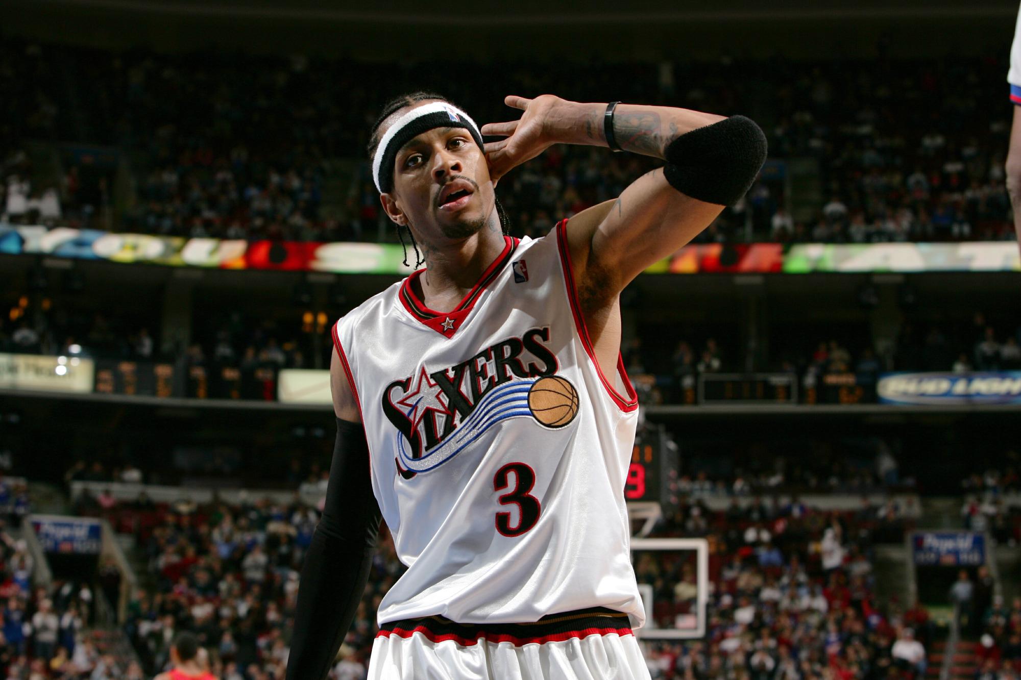 Allen Iverson es una de las leyendas de la NBA que nunca ha ganado un anillo.