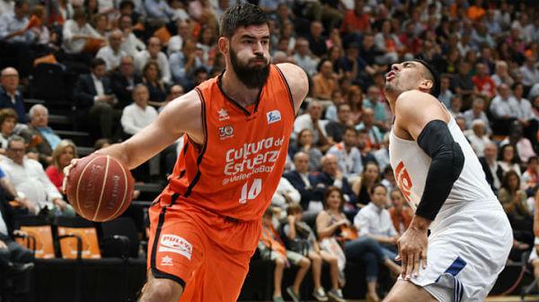 Valencia Basket Campeón ACB 2017. Bojan Dubljevic, MVP de las finales. Fuente: diarioapuestas.com
