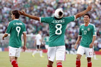 México Campeón Mundial sub-17. Julio Gómez después de marcar ante Alemania. Foto: incondicionales.com