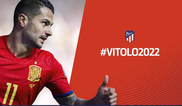 Vitolo será del Atlético de Madrid hasta 2022