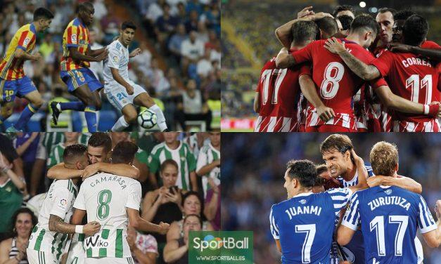 11 ideal La Liga jornada 2