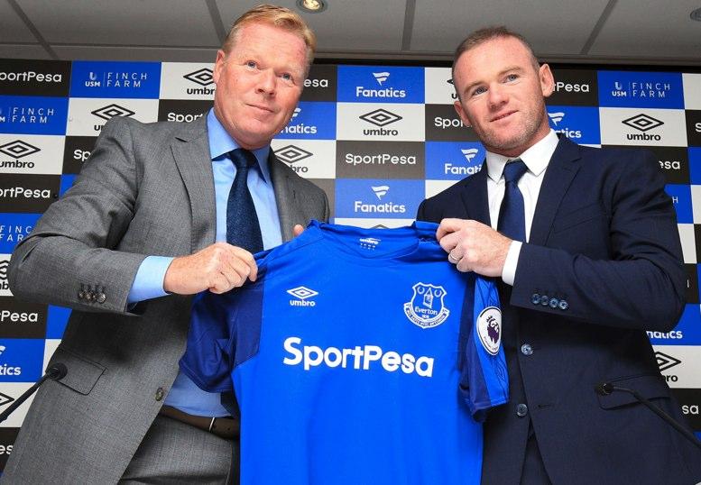 Rooney presentado con el Everton