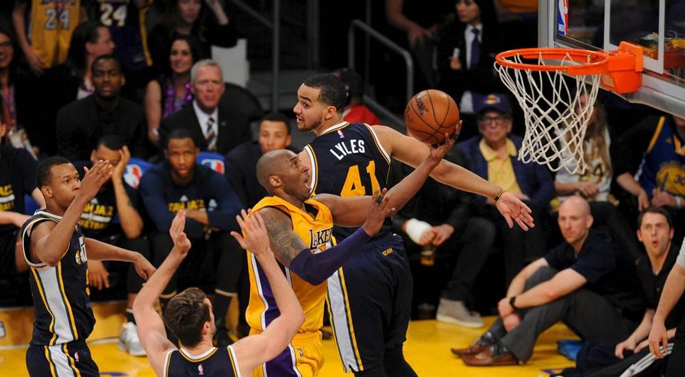 Gracias a la ética de trabajo de Kobe Bryant, el llegó a jugar 20 años en la NBA.