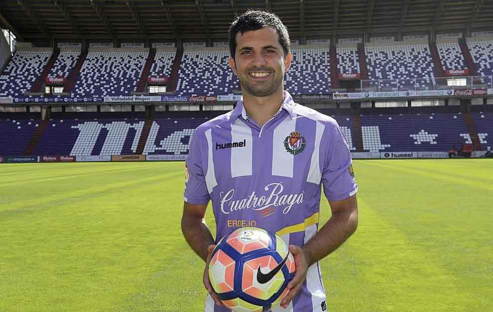 Alex López estuvo la pasada temporada cedido en el Valladolid. Marca.com