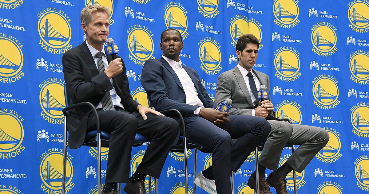 Partes importantes de la historia de los Golden State Warriors.