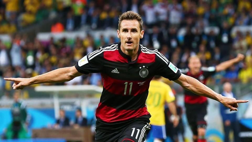 Klose, la figura del 9 por excelencia.