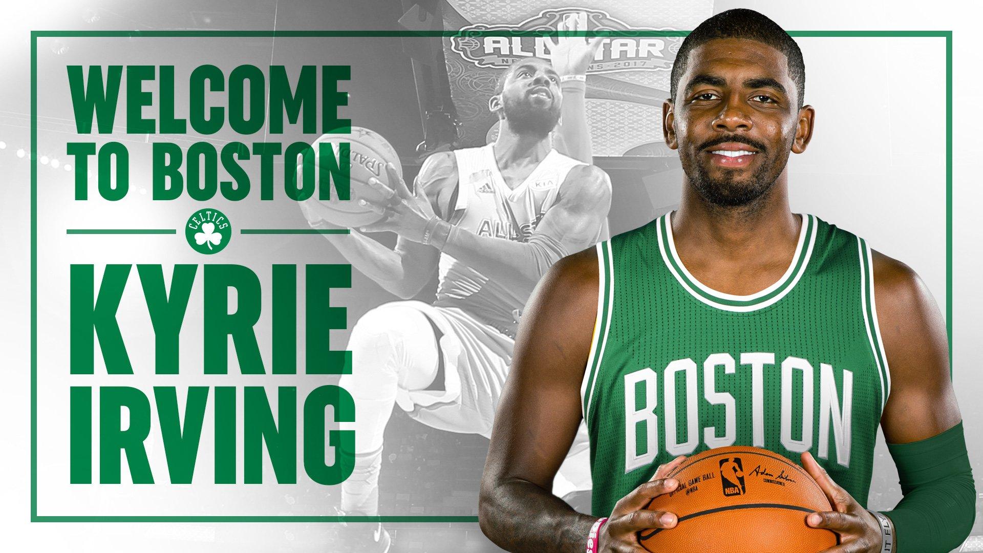 Se confirmó la bomba, Boston Celtics y Kyrie Irving unen sus caminos.