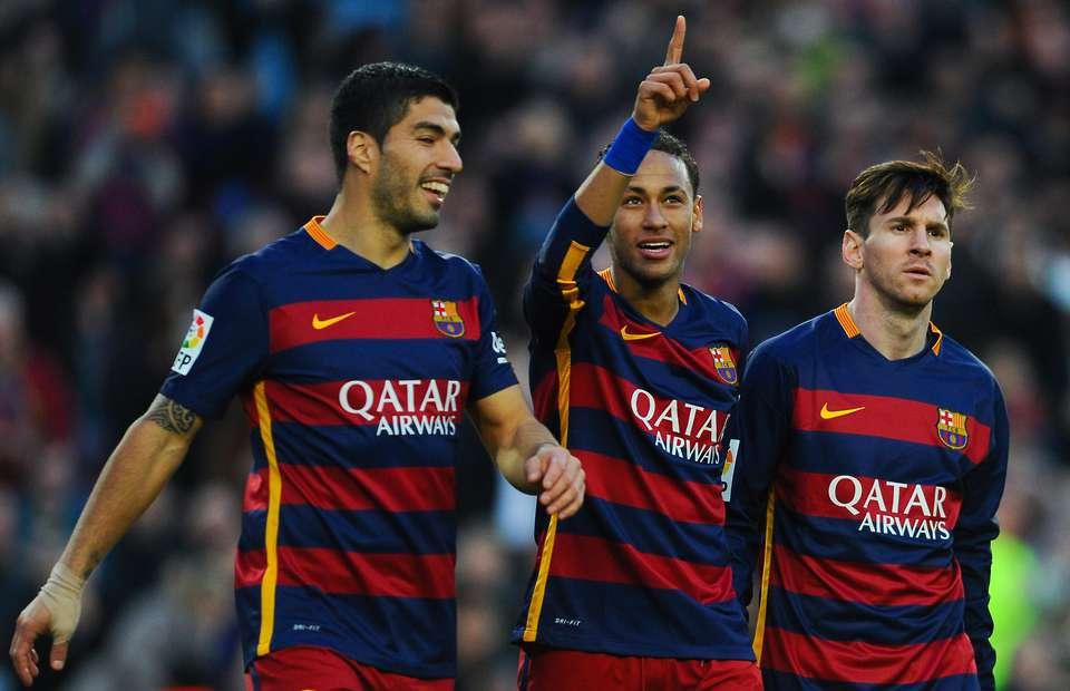 La MSN del Barça ya es historia. Fuente: keywordteam.net