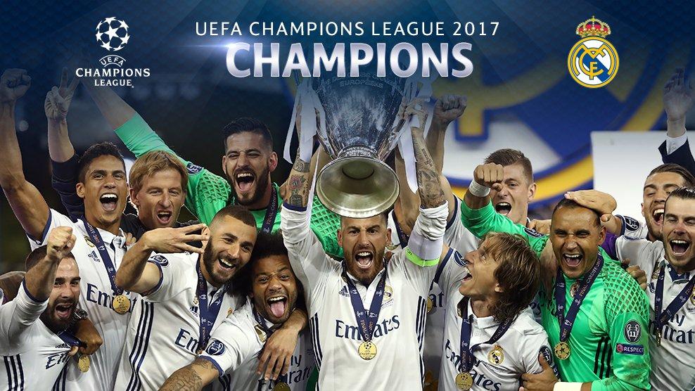 Favoritos Champions League 2017-18. El Real Madrid vuelve a ser el rival a batir en su competición favorita