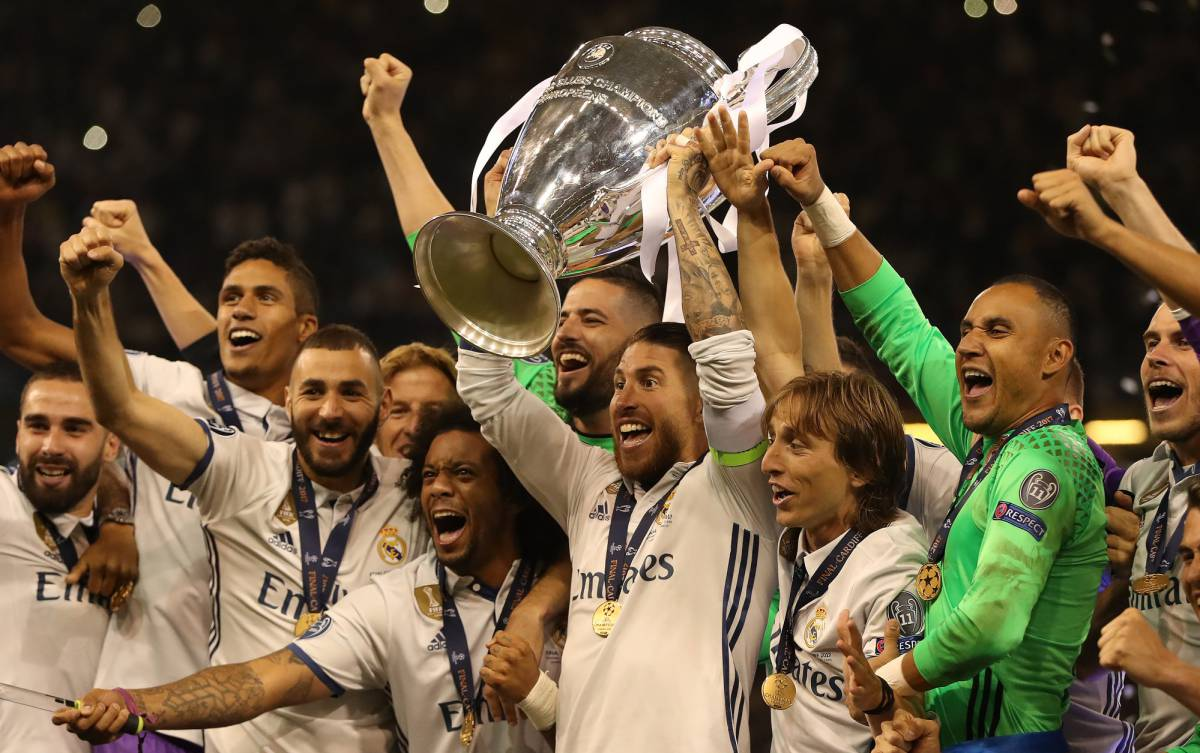 Favoritos Champions League 2017-18. El Real Madrid será el rival a batir en la Champions 17/18