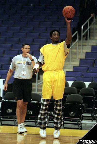 Redit demostrando la ética de trabajo de Kobe Bryant