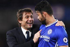 Entre Conte y Diego Costa existía una buena relación.