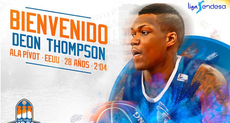 Thompson, potencia y rebote para el San Pablo Burgos 2017 18.