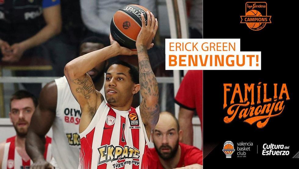 Erick Green crea muchas expectativas en el Valencia Basket 2017 18.
