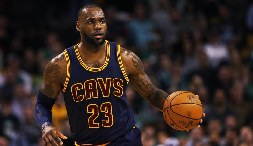 Mejores jugadores NBA. LeBron James