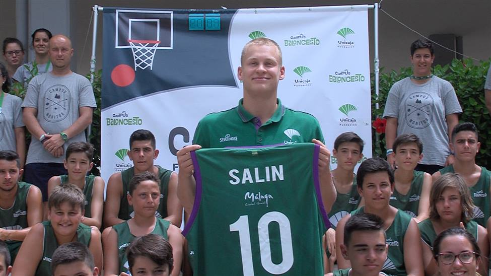 Salin, un excelente tirador para el Unicaja 2017 18.