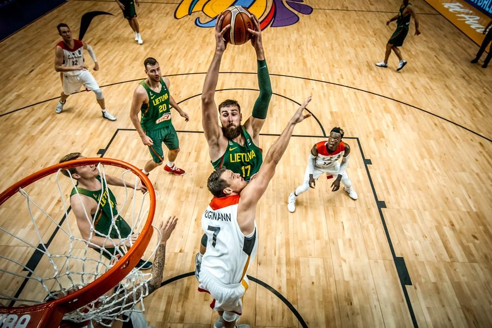 Eurobasket 2017 mejores jugadores. Valanciunas, 2 actuaciones entre las 20 mejores.