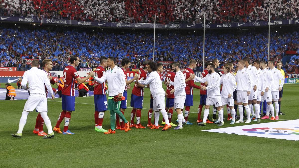 Real Madrid y Atlético de Madrid, candidatos en las apuestas de La Liga.