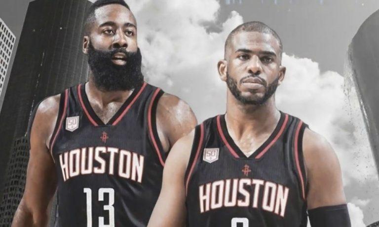 Paul y Harden buscarán el anillo en los Rockets 2017 18.killthatnoise.com
