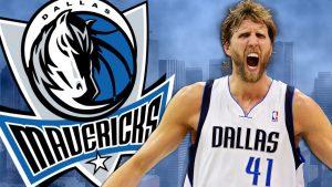 Mavericks 2017 18. Dirk.