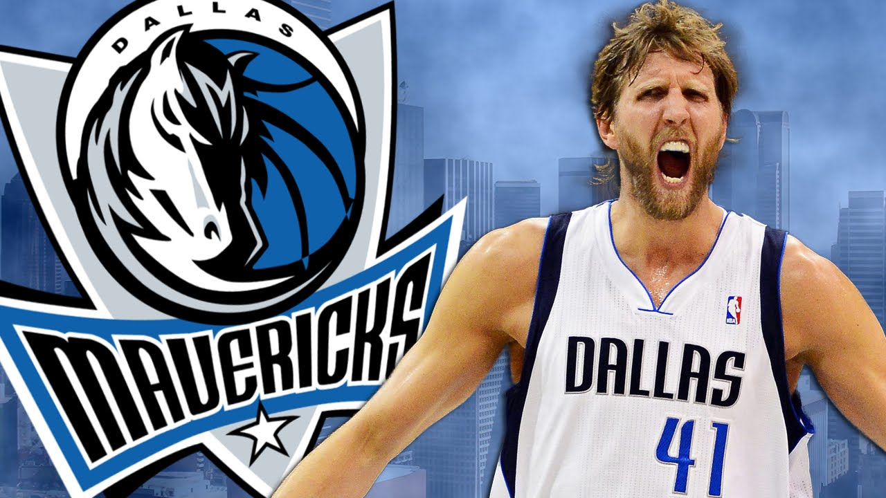 Mavericks 2017 18. Dirk.