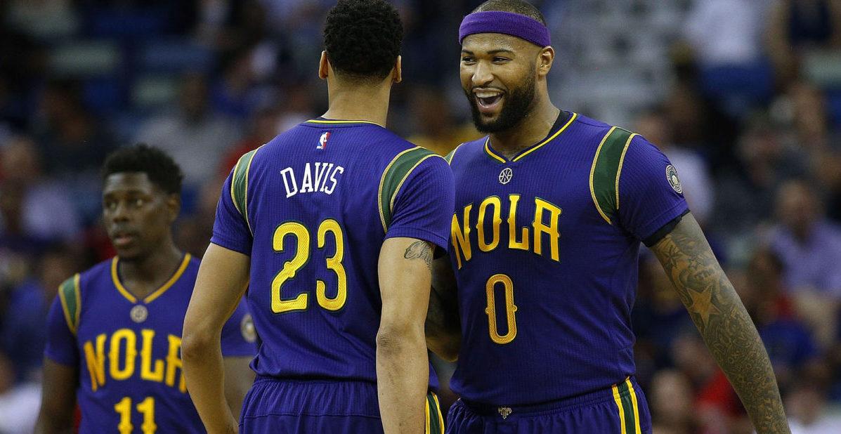 Pelicans 2017 18. Davis y Cousins la antítesis de una NBA small-ball.