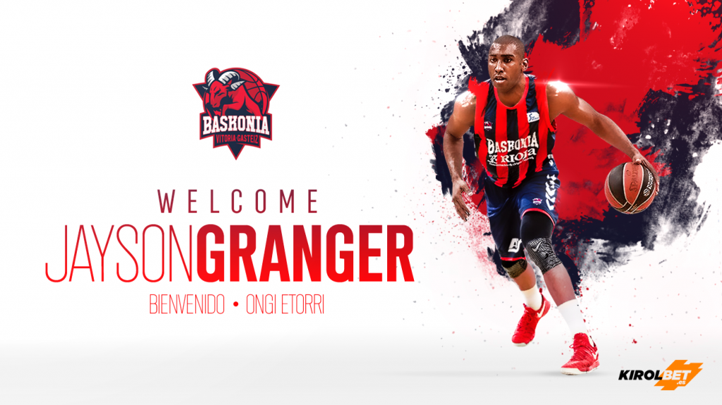 Baskonia 2017 18. Granger, llamado a ser la estrella del equipo.