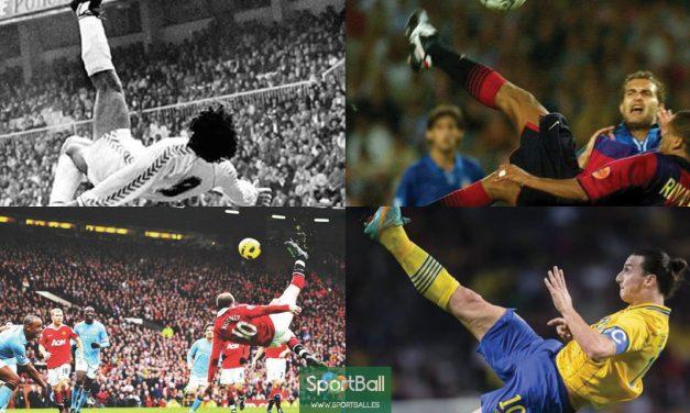 Historias de fútbol sudamericano. La chilena