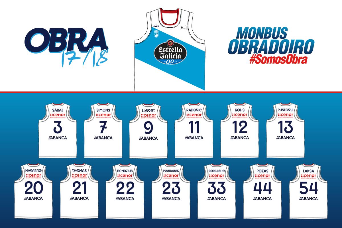 Monbus Obradoiro. Un proyecto interesante para esta temporada.