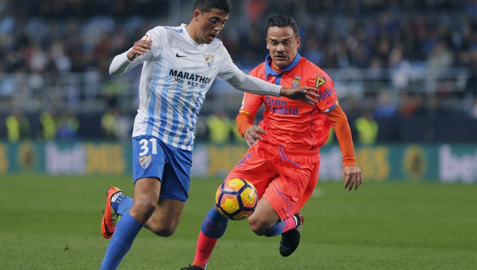 Previa Málaga-Las Palmas. Fornals y Roque, ambos ya no juegan en Málaga y Las Palmas respectivamente.