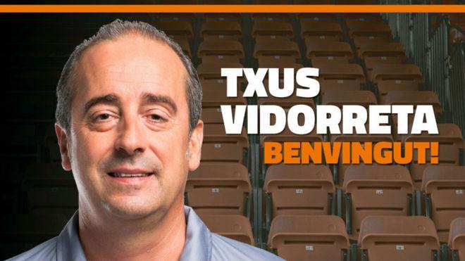 Txus Vidorreta, ante su gran oportunidad en el Valencia Basket 2017 18.