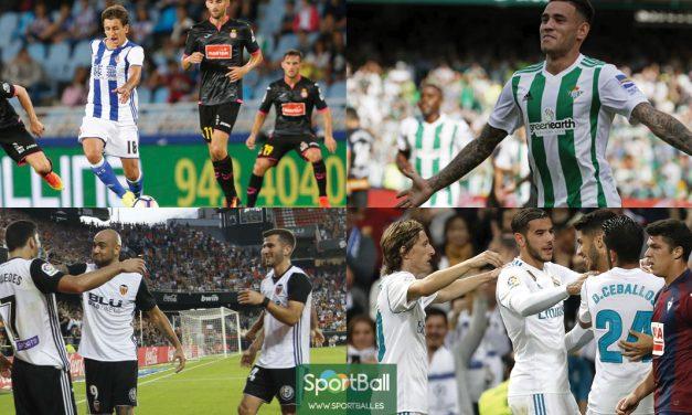 11 ideal La Liga jornada 9