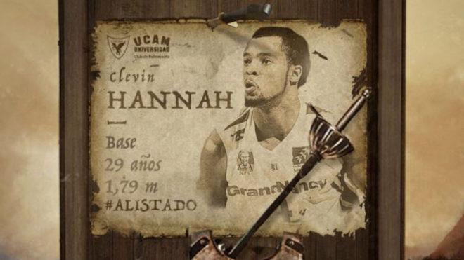 Hannah plantilla UCAM Murcia 2017-18