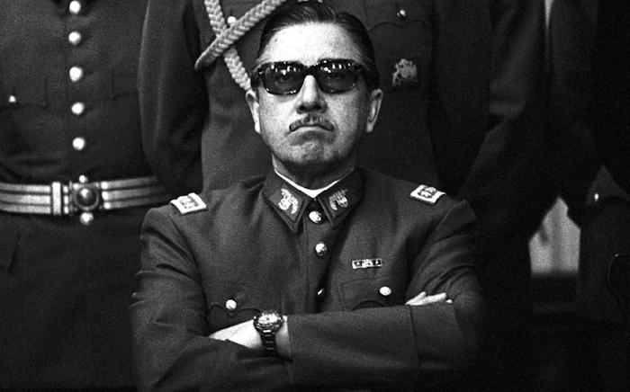 El dictador Augusto Pinochet Ugarte.