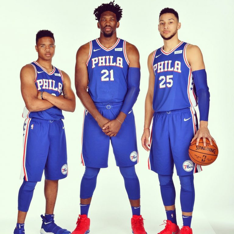 SIXERS Embiid, Fultz, Simmons